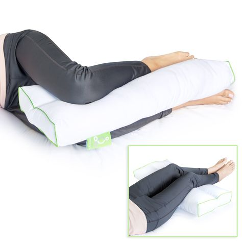 Sleep Yoga Back Side Sleepers Ergonomically Designed Down Alternative Pillow For Knee Support Hypoallergenic And Washable Knee Pillow Sleep Yoga Support Pillows