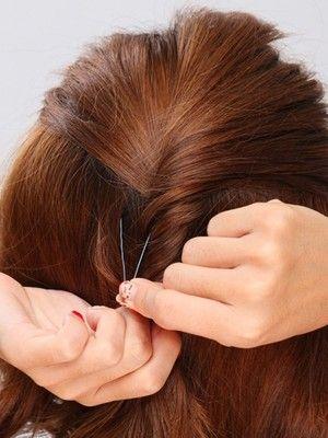 アメピン Uピンの正しい使い方と髪の留め方 ヘアアレンジ All About