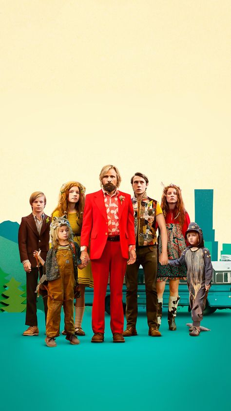 Captain Fantastic (2016) Phone Wallpaper | Moviemania