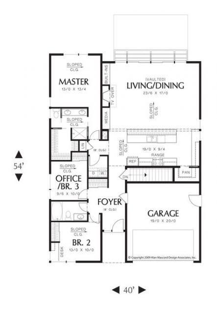 60 Ideas House Plans 1600 Sq Ft Bathroom Modern Modern House Plans Floor Plans Mediterranean House Plans