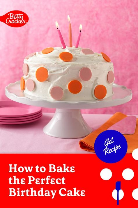 Wondering How to Bake the Perfect Birthday Cake? Try our easy cake recipe. Pin today for birthday brilliance!