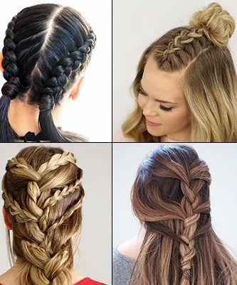 30 French Braids Hairstyles Step By Step How To French Braid Your Own Love Casual Style French Braid Hairstyles Kids Braided Hairstyles French Braid Styles
