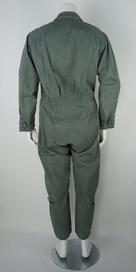 Vintage Military K-2B Lightweight Flight Suit by foundationvintage