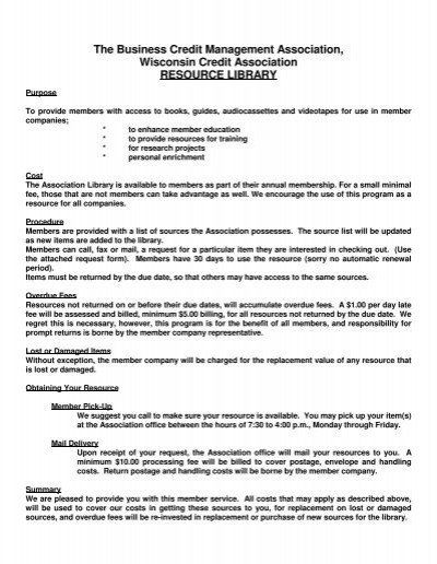 Resource Request Form Library Resource Request Form And Rules Wisconsin Credit Funeral Program Template Program Template Contract Template