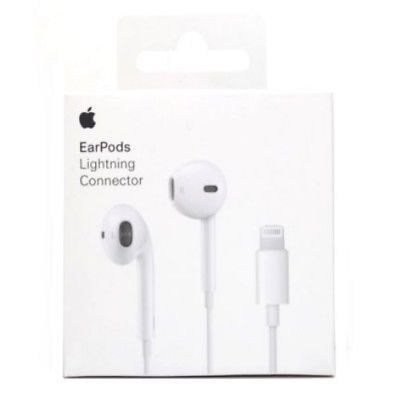 Genuine Apple Earpods With Lightning Connector For Iphone 7plus 8 X Mmtn2zm A Apple Earphones Apple Headphone Headphones