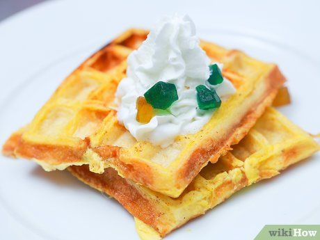 How to Make French Toast Waffles: 7 Steps (with Pictures)