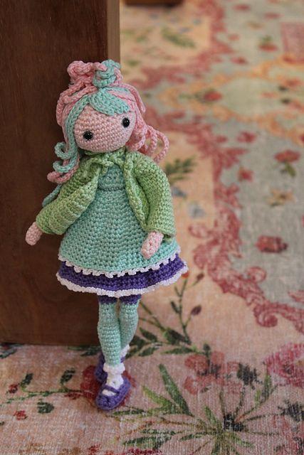 Ravelry: Amigurumi Olivia Doll pattern by Tiny Mini Design | 640x427