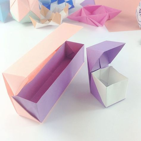 How to Make the CHAOS EMERALDS - Origami Diamond - No Tape! No ...   474x474