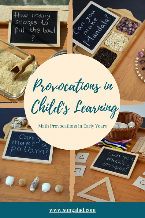 Provocations in Child's Learning