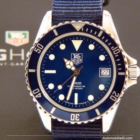 TAG Heuer 1000 Submariner Man Blue edition 980.613