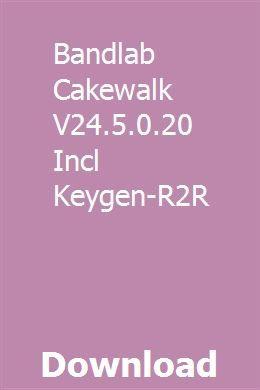 Bandlab Cakewalk V24 5 0 20 Incl Keygen-R2R download full