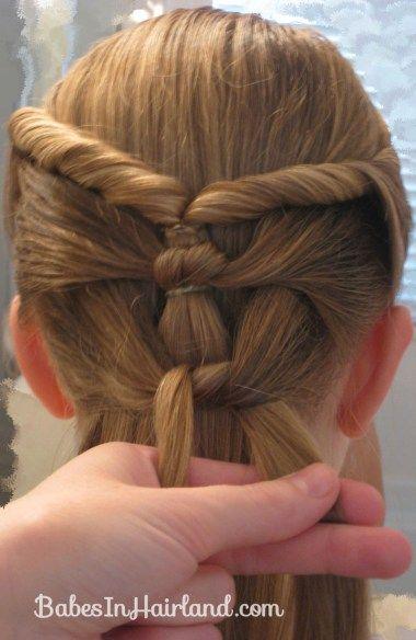 Taufe Frisur Twists Knots Hair Ideas Frisuren Frisuren