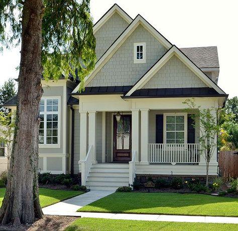 narrow lots rear garage house plans - Google Search