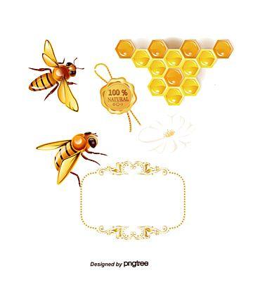 عسل النحل تحميل قالب النحلة المرسومة النحل والعسل خلية النحل Png وملف Psd للتحميل مجانا Bee Clipart Bee Hive Honey Bee Cartoon