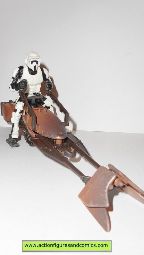 Speeder Bike And Scout Trooper Premium Format Figure Gdt
