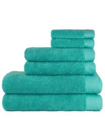 American Dawn Carolina Texture 6 Piece Bath Towel Set Reviews