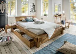 Nice rustic Bedroom by Allnatura