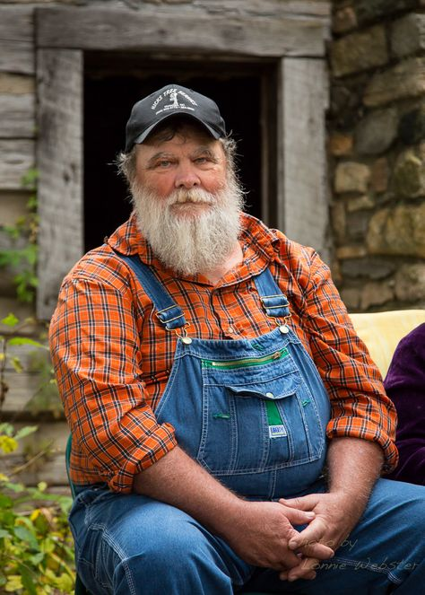 Storyteller Orville Hicks during the annual Boone Heritage Festival - Photo by Lonnie Webster