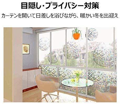 Amazon Co Jp Rabbitgoo 窓用フィルム 目隠しシート 断熱 紫外線カット 無接着剤 再利用可能 遠花火 44 5 X 200cm ホーム キッチン ホーム 窓 再利用