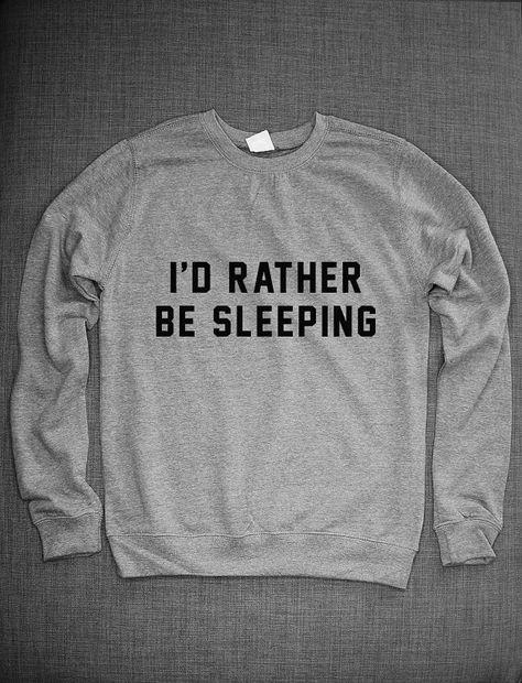 Id Rather Be Napping Black Kids Sweatshirt