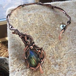 Wire wrap bracelet tutorial Tutorial for wire jewelry Wire weave bracelet tutorial DIY wire project Wire jewelry tutorial PDF Dorasaccessory