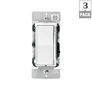 57 3 Pack Leviton Decora 600 Watt Single Pole 3 Way Universal Rocker Slide Dimmer White Light Almond 3 Pack M02 Dsl06 Leviton Dimmable Led Led Smart Bulb