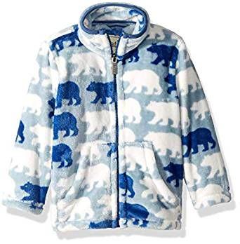 Hatley Boys Fuzzy Fleece Jacket