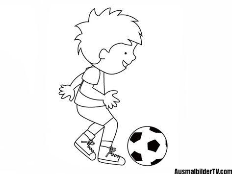 ausmalbilder kostenlos fußball spieler   soccer   ausmalen