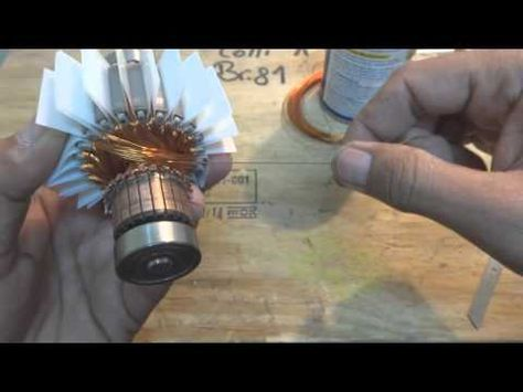How To Rewinding 12v Dc Fan Motor Easy At Home Yt 37 Youtube Universal Motor Motor Repair