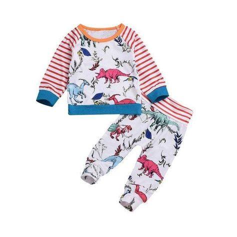Dinosaur Pajamas Toddler<br> Girl and Boy - 18M