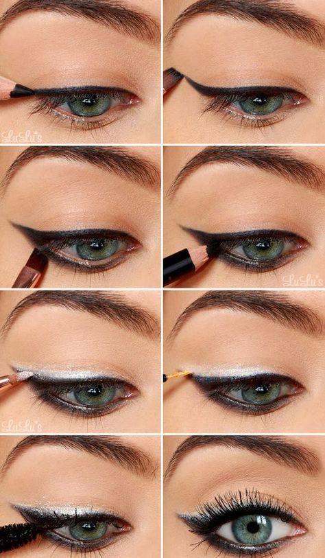 How to apply eyeliner video