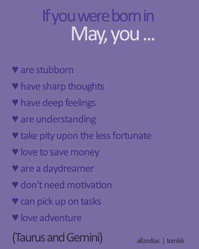 May Birthday Horoscope Sign