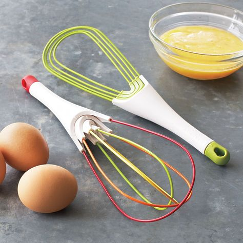 I would loooove these! Joseph Joseph Twist™ 2-in-1 Silicone Whisk | Sur La Table