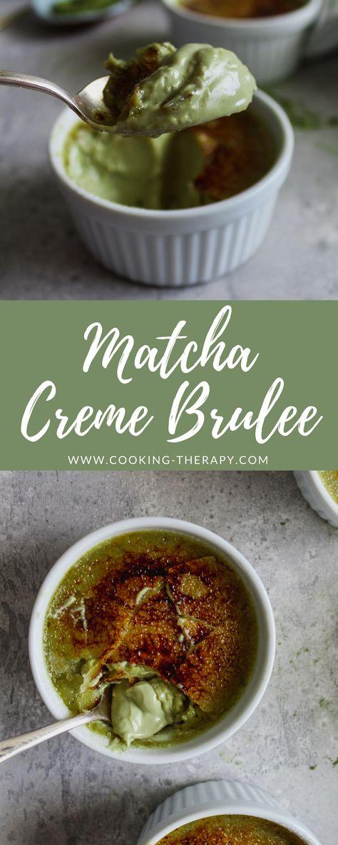 Matcha Creme Brulee