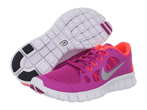 online retailer 2018 sneakers clearance sale Nike Free Run 5.0 Fusion Pink/Total Crimson/Metallic Silver ...