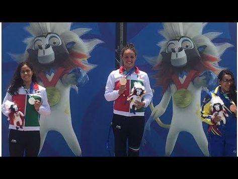 Potosina María José Mata gana Oro para México en Aguas Abiertas de JCC