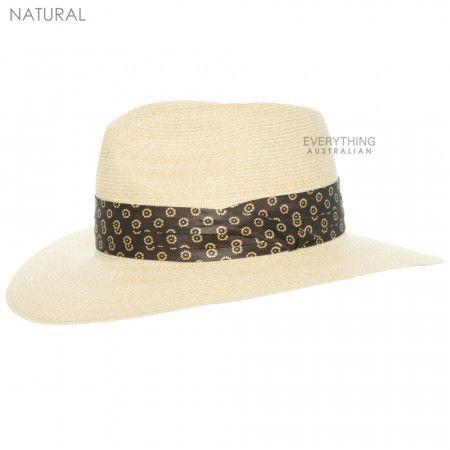 Natural Akubra Byron Hat