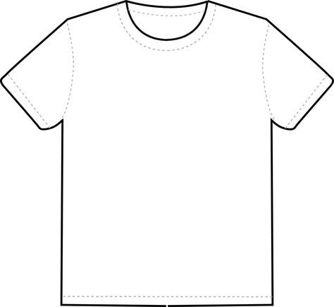 T Shirt Outline Clipart Best