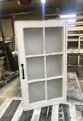 Rustic Farmhouse Medicine Cabinet From 6 Pane Or 4 Pane Wood Window Frames Ebay Farmhouse Medicine Cabinets Wood Window Frame Rustic Medicine Cabinets