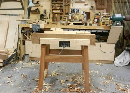 Another Small Workbench A Bench For Working Wood In 2019