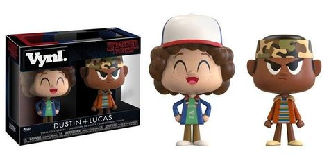 Funko Television Vynl Figures - Stranger Things Lucas and Dustin