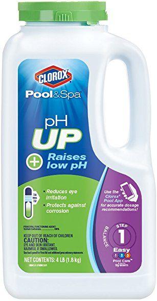 Clorox Pool Spa Ph Up 4 Pound 19004clx Amazon 7 Clorox Pool