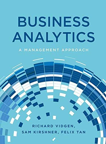 Read Book Business Analytics A Management Approach Download Pdf