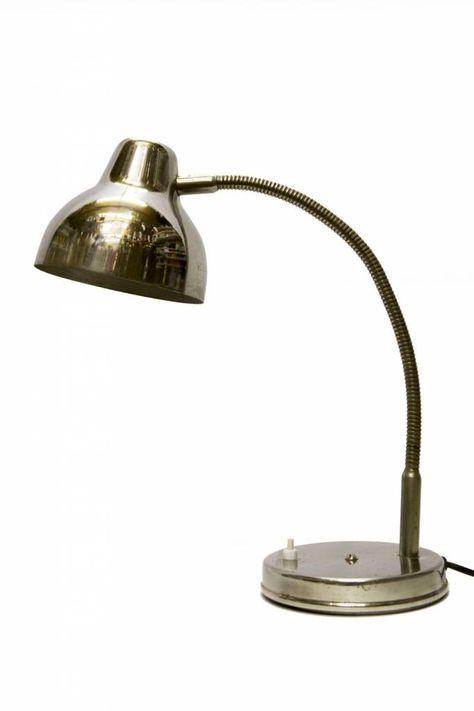 77 beste afbeeldingen van Lamplord   Chroom Vintage lampen