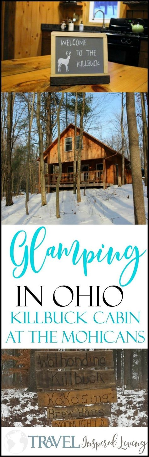 Glamping along the Kokosing River