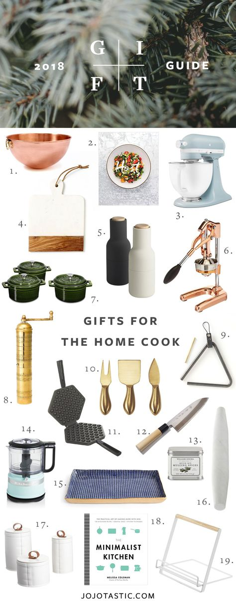 Home Cook Gift Ideas, Gift Guide for Christmas