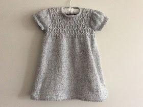 JENTE BABY!! 10 Gratis StrikkeOppskrifter på små Kjoler! i
