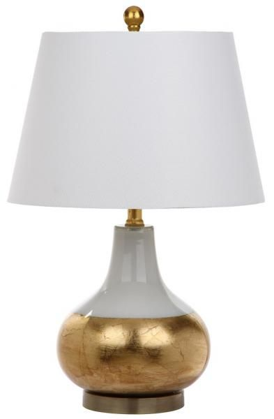 Lit4509a Set2 Table Lamps Lighting By Safavieh Table Lamp Table Lamp Sets Affordable Table Lamps