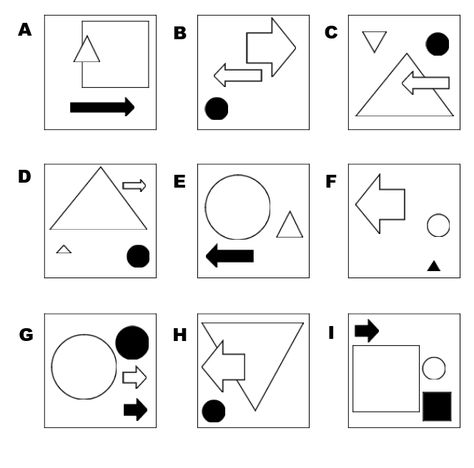 Abstract reasoning tests - sample questions Intelligence Puzzles - aptitude test free