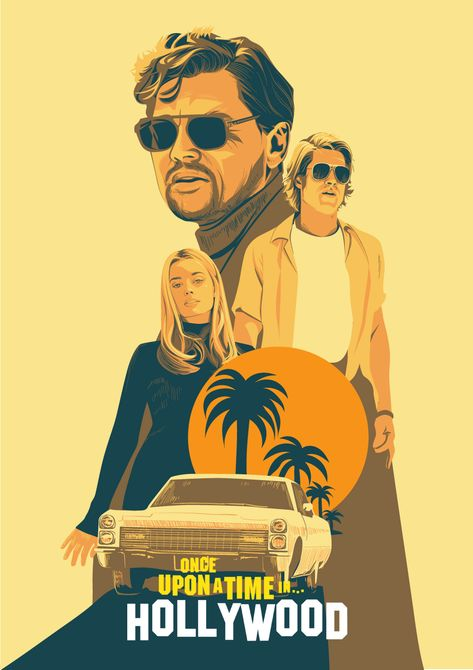 Once Upon a Time in Hollywood - PosterSpy